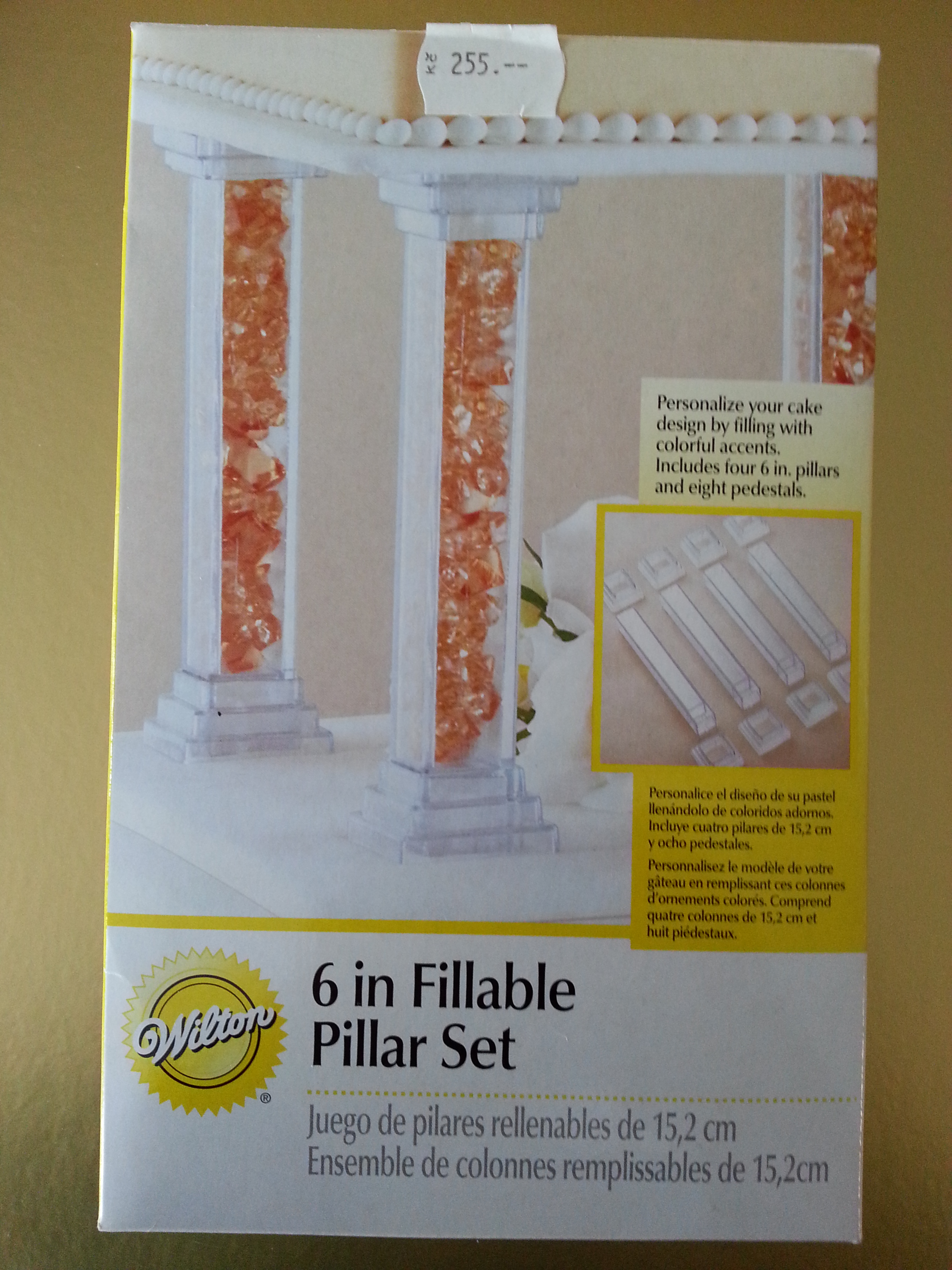 PILLAR SET WILTON 6""